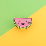 Cute Kawaii Watermelon Enamel Pin