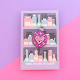 Love Potion Bottle - Hard Enamel Pin