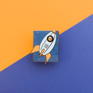 Rocket Cat - Hard Enamel Pin