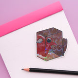 Holographic Cu-Bird Stickers - FULL SET