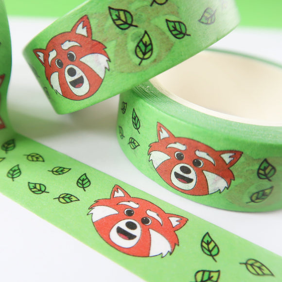Red Panda Washi Tape