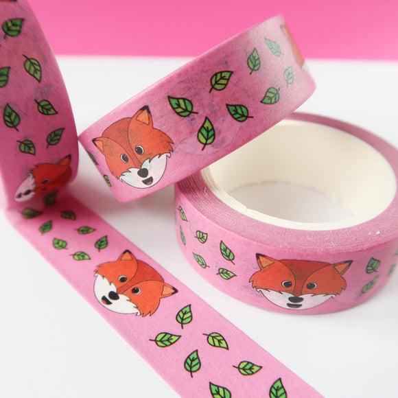 Red Fox Washi Tape
