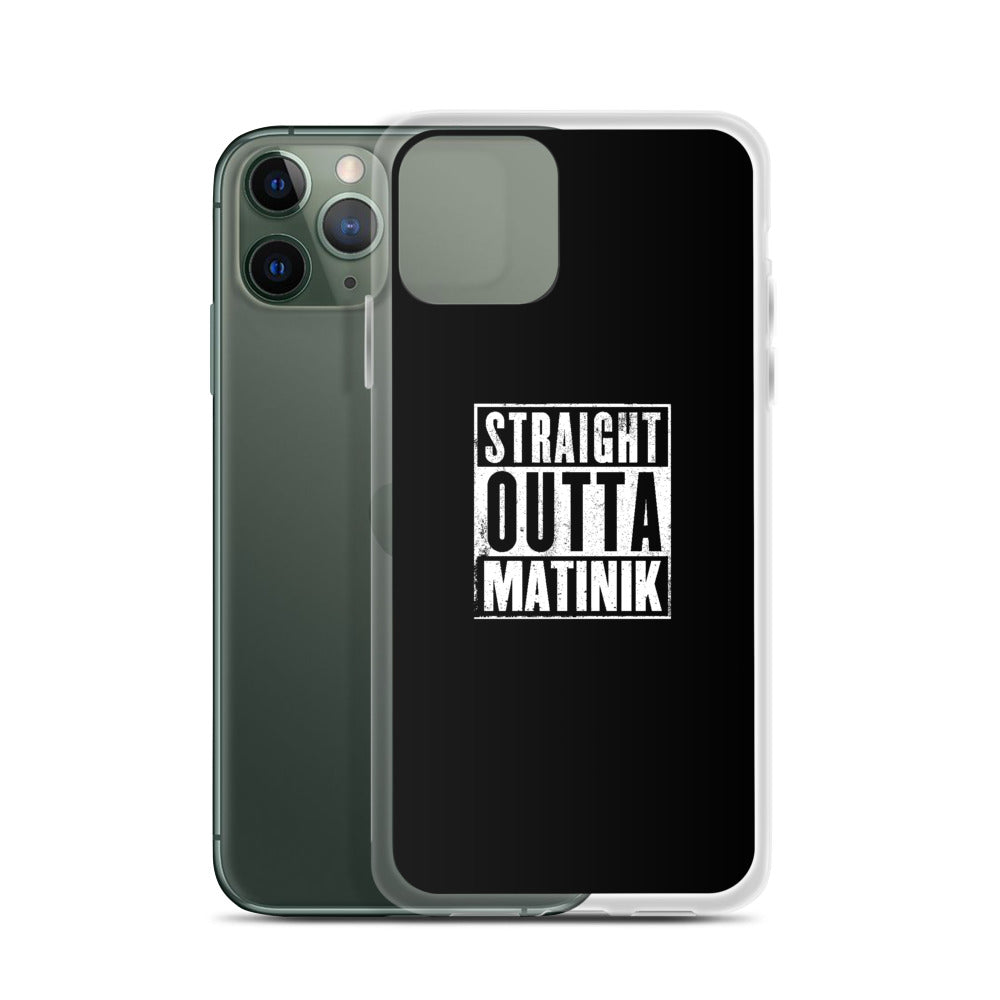 Coque iPhone Straight Outta Matinik