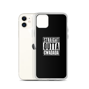 Coque iPhone Straight Outta Gwadada