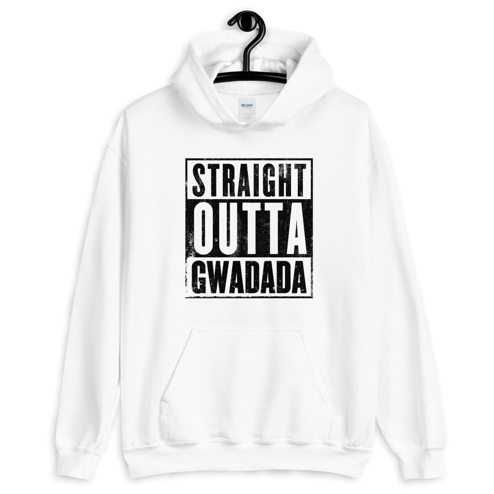 Sweat à Capuche Straight Outta Gwadada