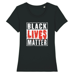 T-Shirt Slim BIO Black Lives Matter Bloody