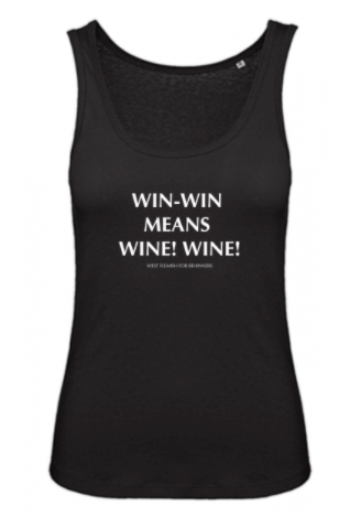 Tanktop Win Win Means Wine Wine