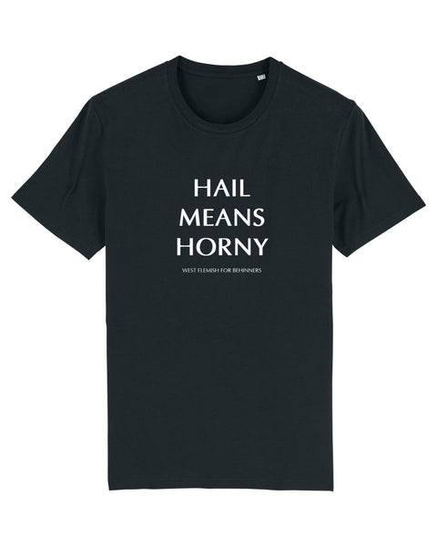 Unisex T-shirt Hail Means Horny
