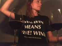 Unisex T-shirt Win Win Means Wine Wine