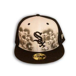 Catacombs Fitted Hat White Sox