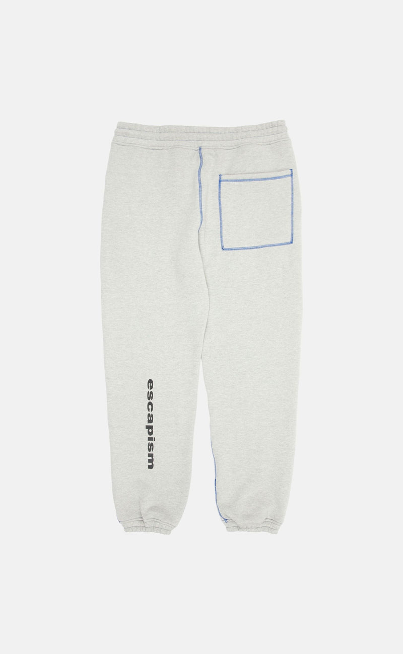 HEATHER GREY HEATHER GREY COLLAPSE SWEATPANTS