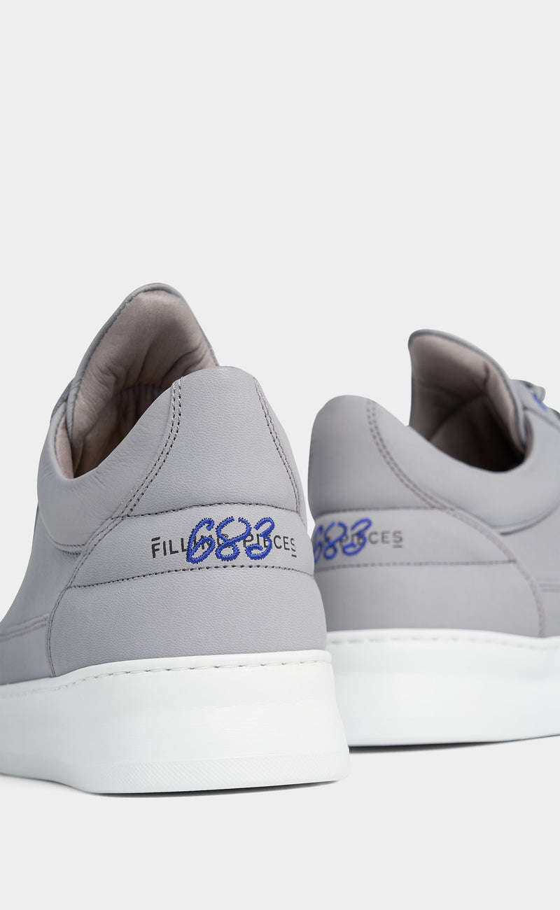 Low Top Plain 683 Organic Grey
