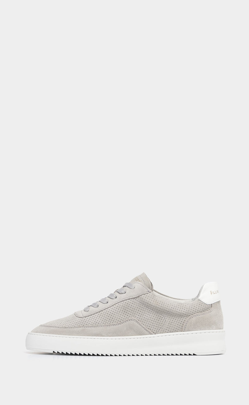 Mondo Perforated Light Grey