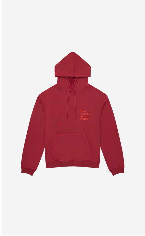 TFIOM Oversized Hoodie Red Lunar Pigment Red