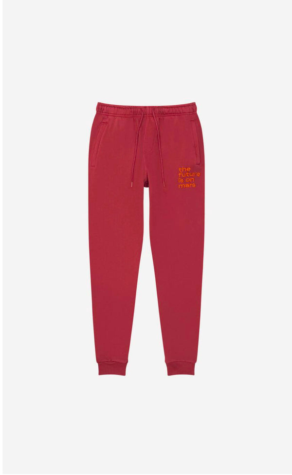 TFIOM Oversized Jogger Red Lunar Pigment Red