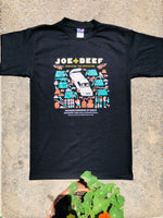 Load image into Gallery viewer, Joe Beef Apocalypse T-Shirt (Black)