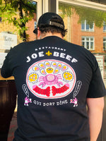Load image into Gallery viewer, Joe Beef Qui Dort Dine T-Shirt (Black)