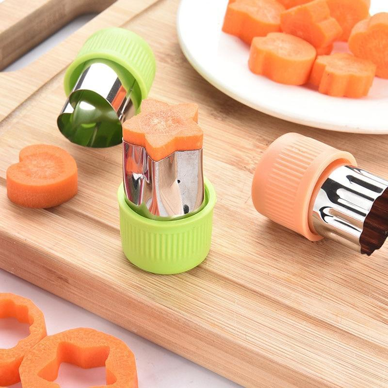 3Pcs/set Stainless Steel Cutters Kitchen Tools