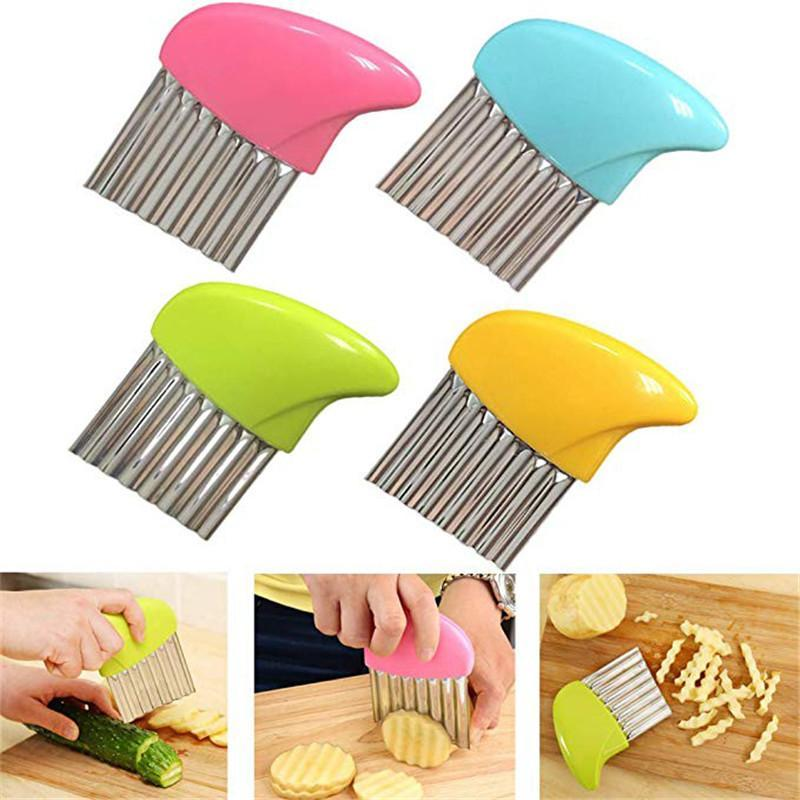 1pc French Fries Cutter Potato Peeler
