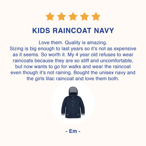 Affordable raincoats for boys that will last