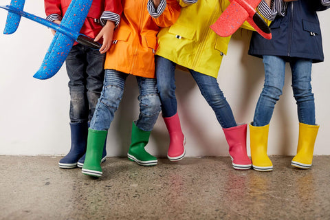 Kids Colourful Gumboots