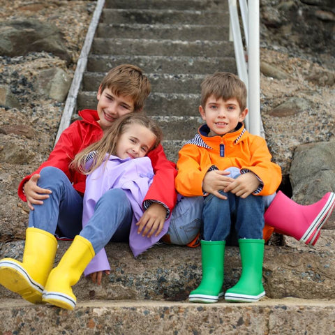 Colourful Kids Raincoat Afterpay