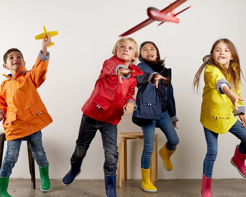 Kids raincoats that are waterproof and windproof