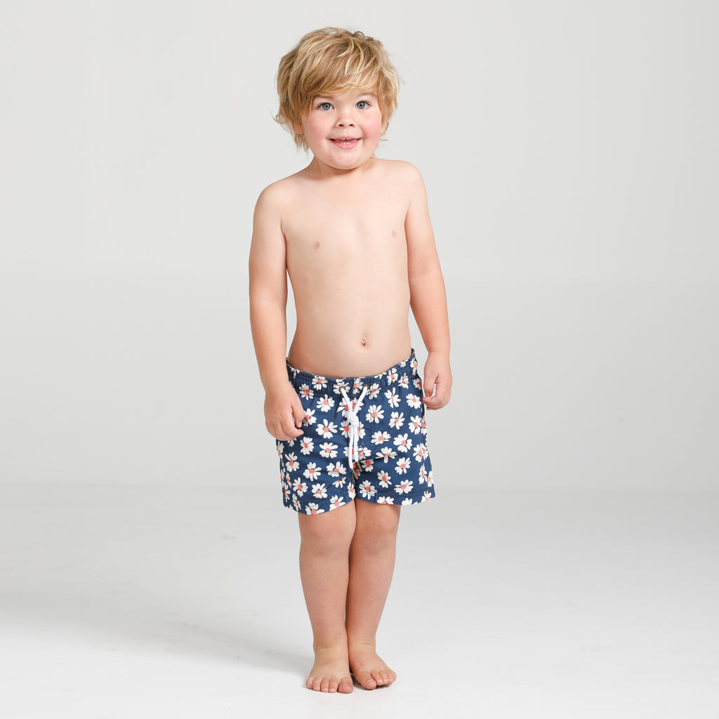 Funky Flower Swim Short Boys