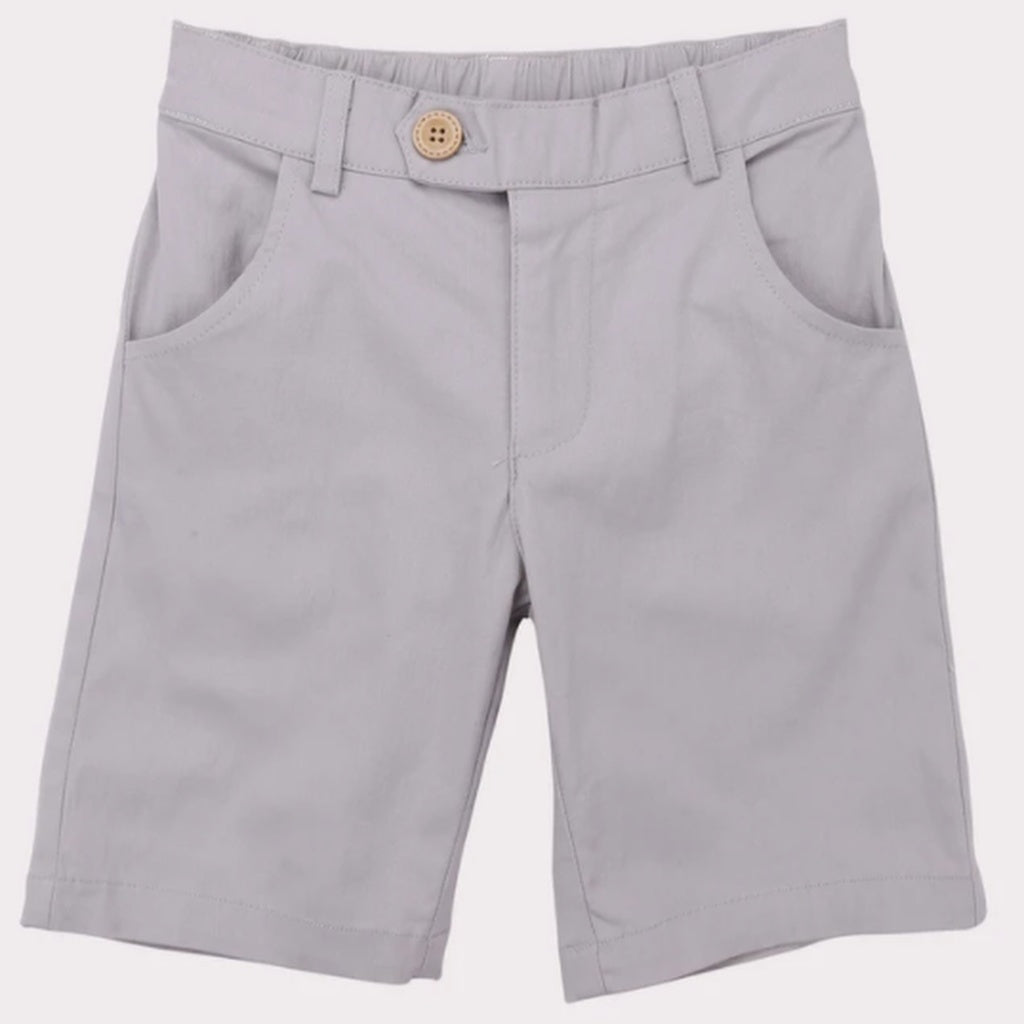 Boys chino short grey