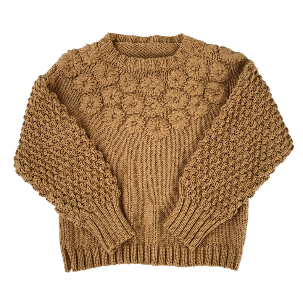 Bella and Lace Knit Jumper