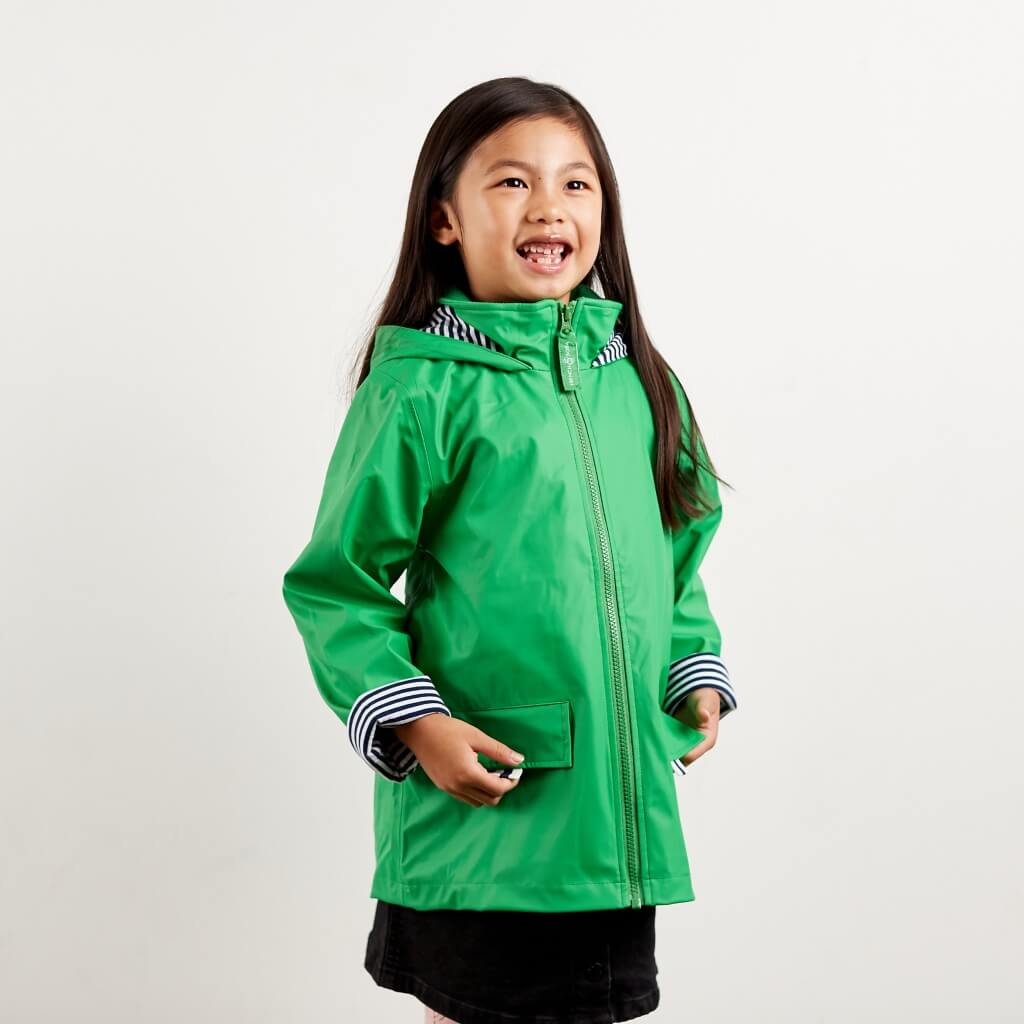 Zip Raincoat with pockets
