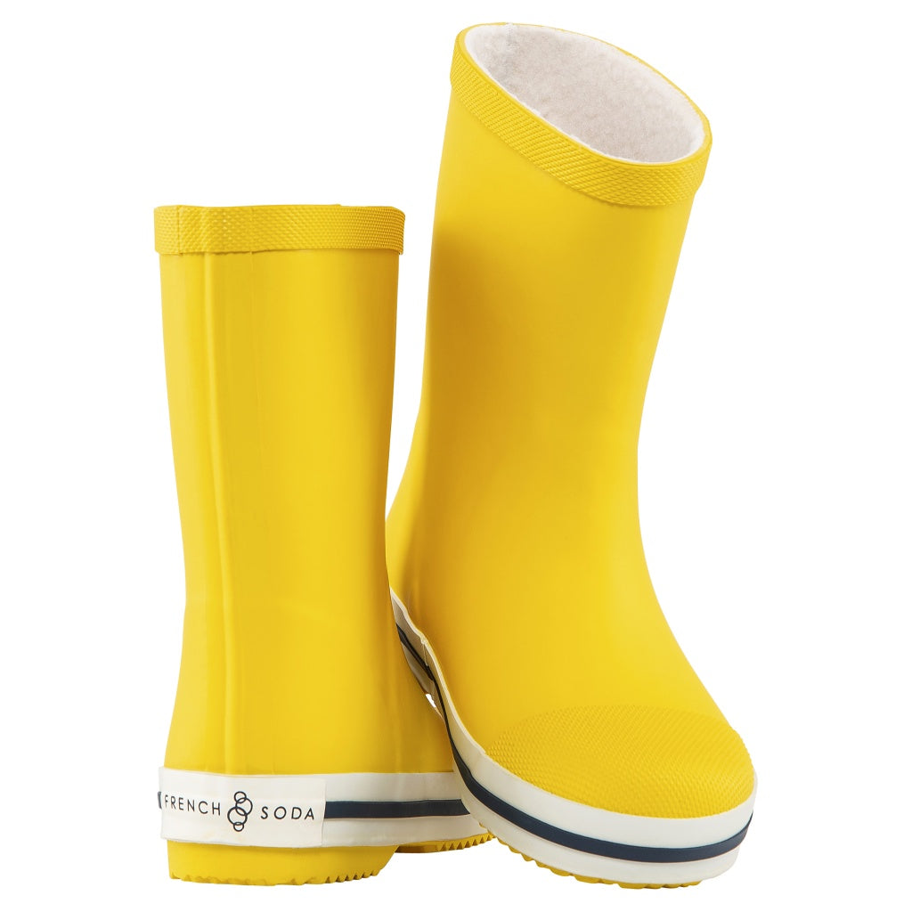 Natural Rubber Boot Yellow