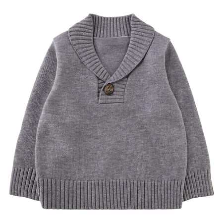 Collared Jumper - Grey