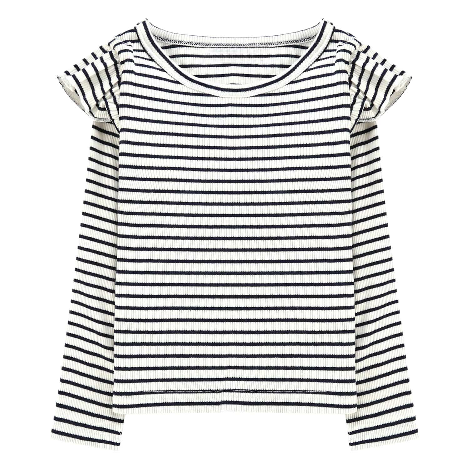 Girls stripe top long sleeve