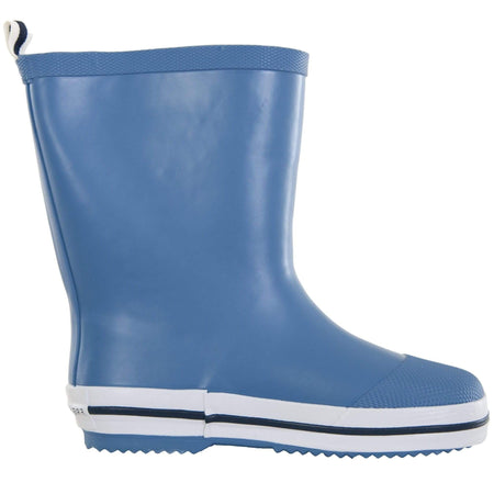 Kids rubber gumboot powder blue