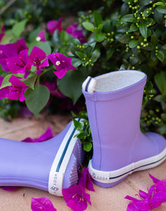 Kids' Rubber Gumboot - Purple