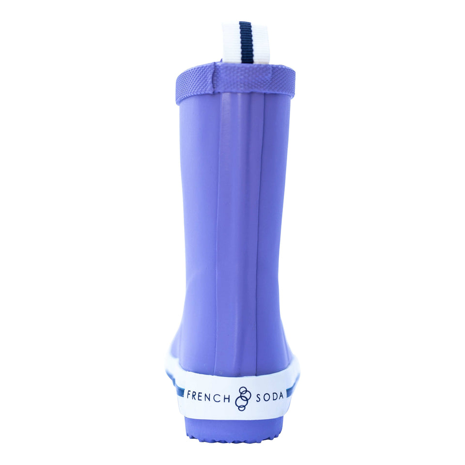 Girls rubber gumboot - purple
