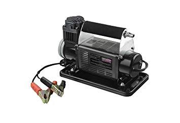 DOBINSONS 4X4 PORTABLE 12V HIGH OUTPUT AIR COMPRESSOR KIT WITH BAG, HOSE, AND GAUGE(AC80-3808)