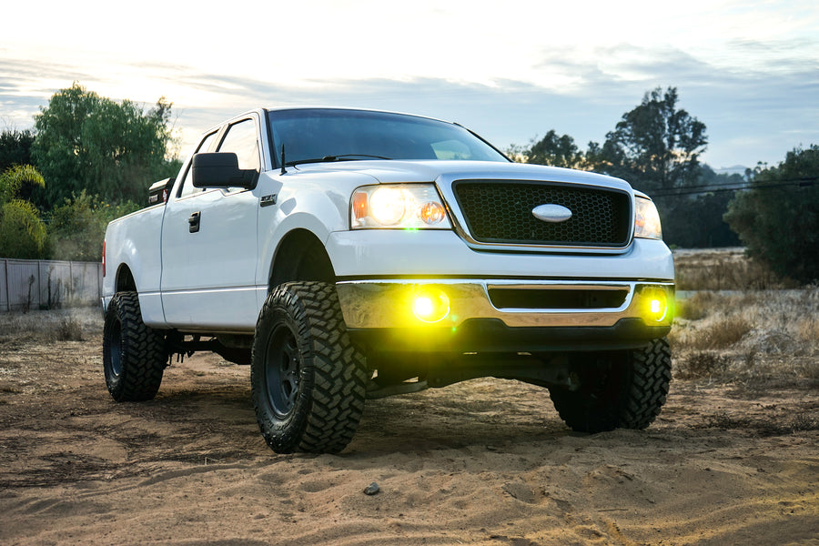 Ford/Toyota, F-150, Tundra, Tacoma SAE Fog Light Kits (WHITE)