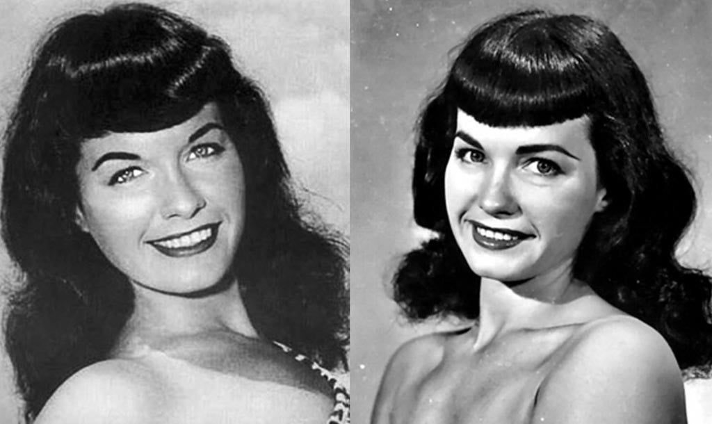 Bettie Page Hair Tutorial