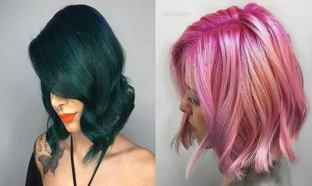 Hair Color for Mermaids
