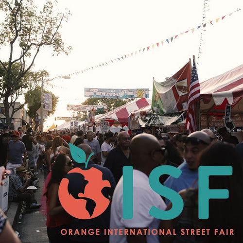 Orange International<br />Street Fair