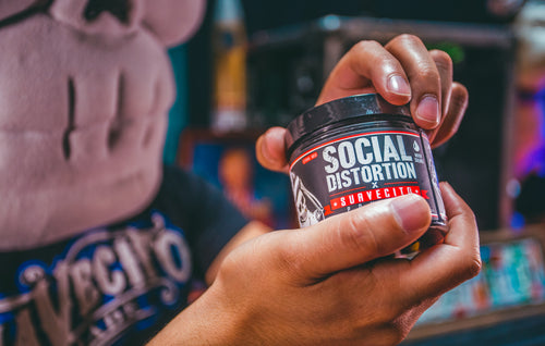 Social Distortion X Suavecito Pomade and Tees