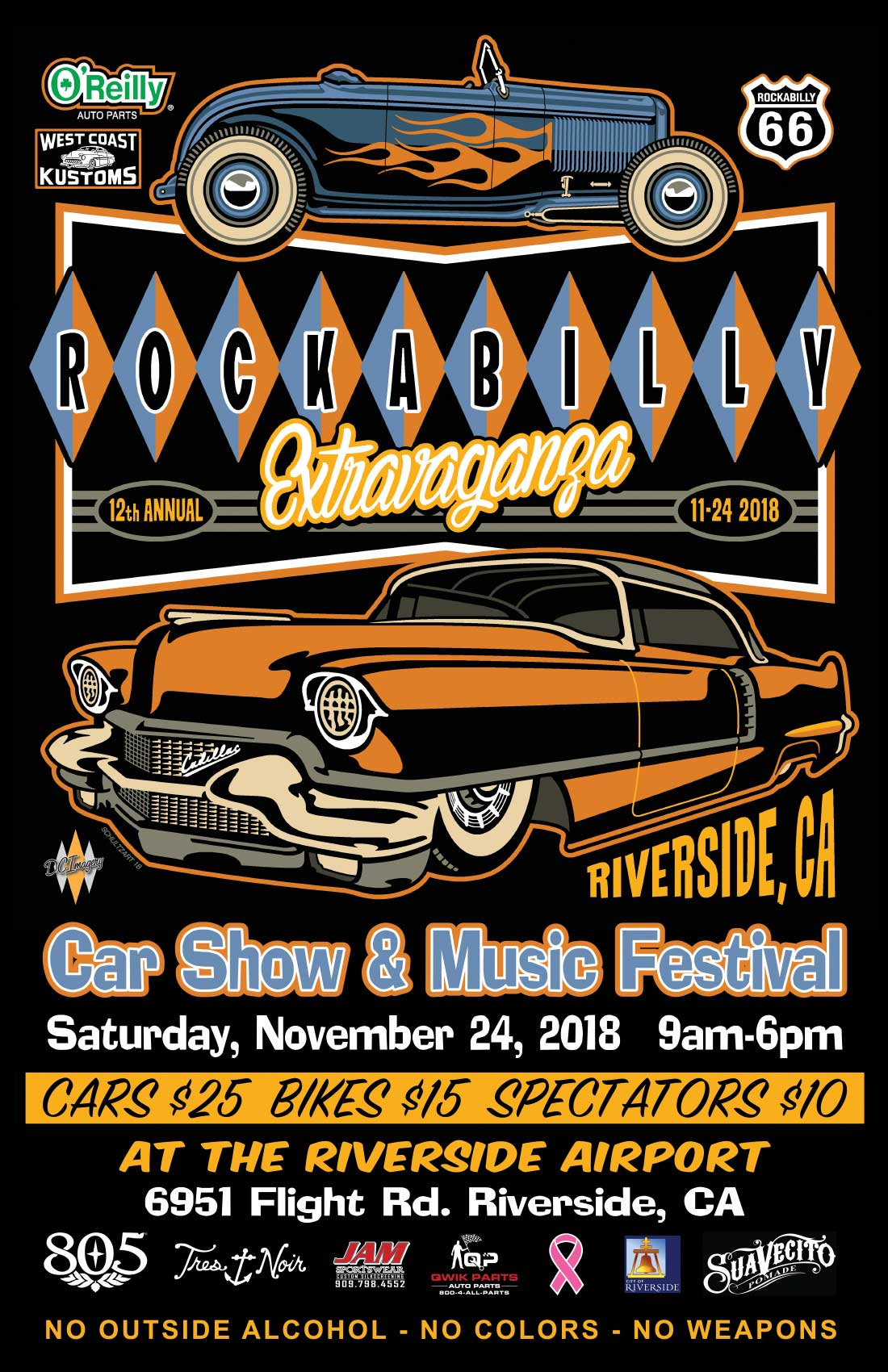 12th Annual Rockabilly Exravaganza
