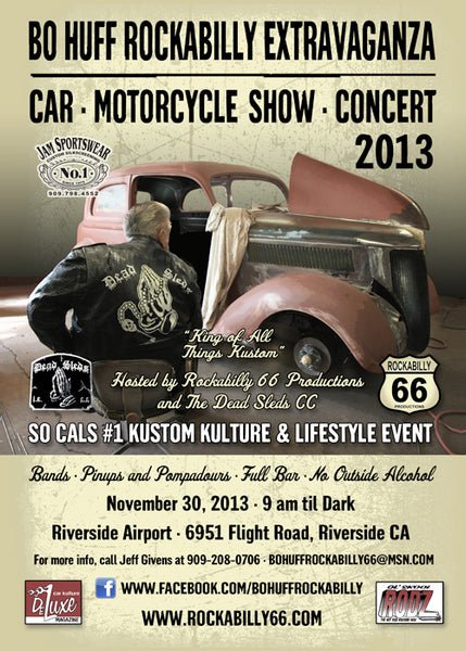 Suavecito Pomade To Attend The Bo Huff Rockabilly Extravaganza
