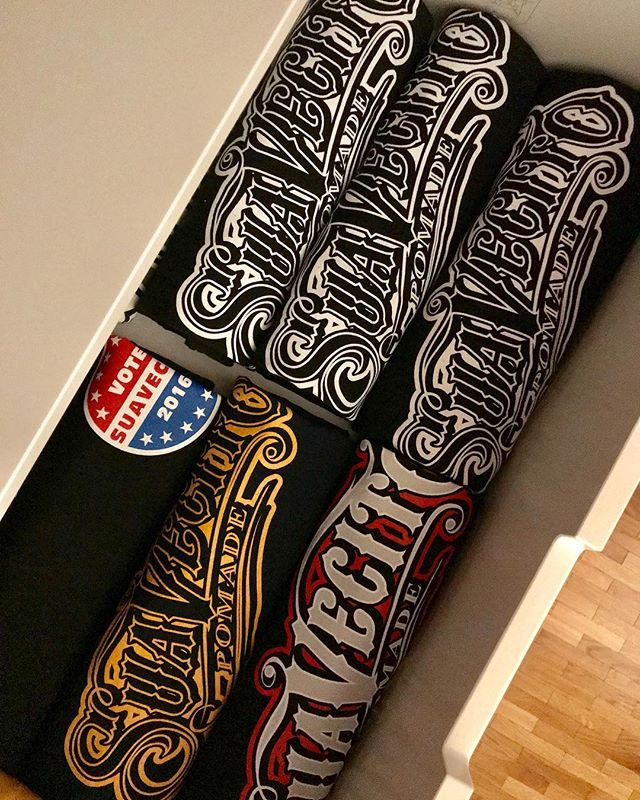 Fresh Clean Drawer Full of Suavecito Shirts