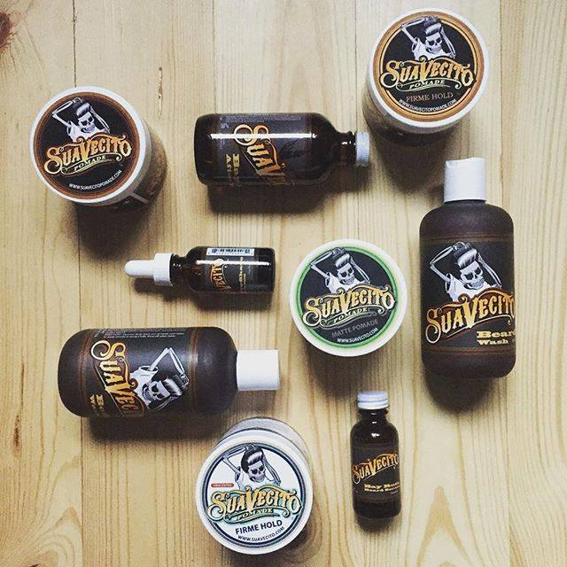 original suavecito pomade products line up