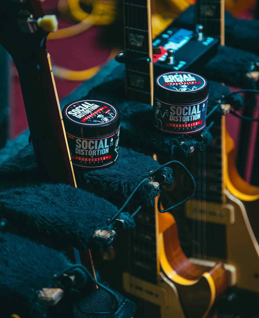 Suavecito X Social Distortion Collaboration