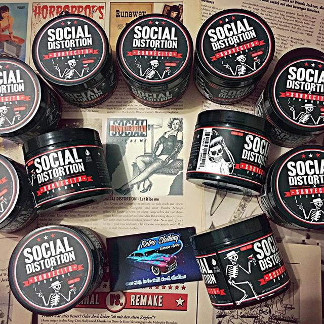 Social Distortion X Suavecito Pomade Collaboration