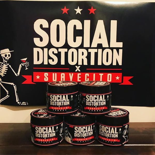 Social Distortion Pomade on display in Tokyo
